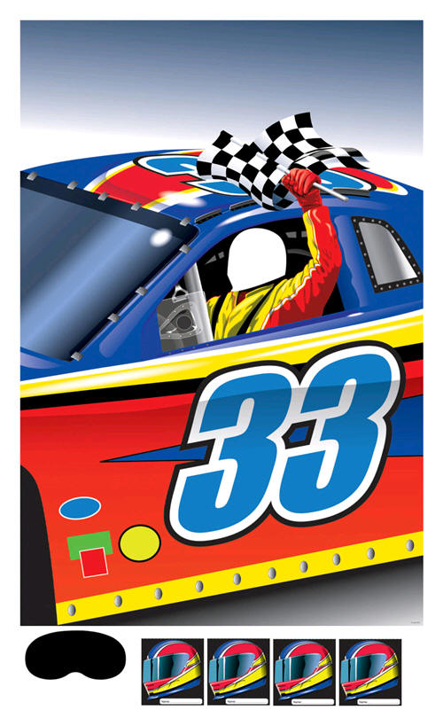 Decorating For A Race Car Themed Birthday Party